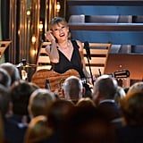 Taylor Swift performed at the CMAs.