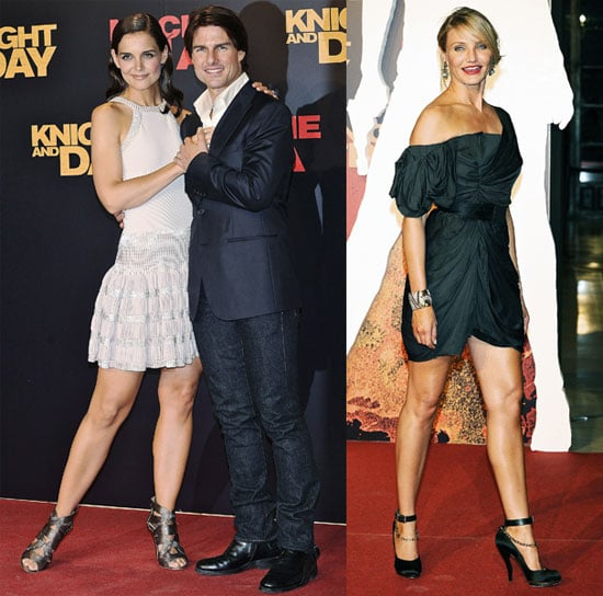 Pictures of Tom Cruise, Katie Holmes, Cameron Diaz at Knight and Day Premiere in Seville, Spain 2010-06-16 22:00:24