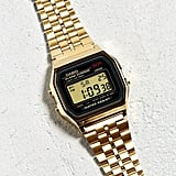 Casio Vintage Gold Watch