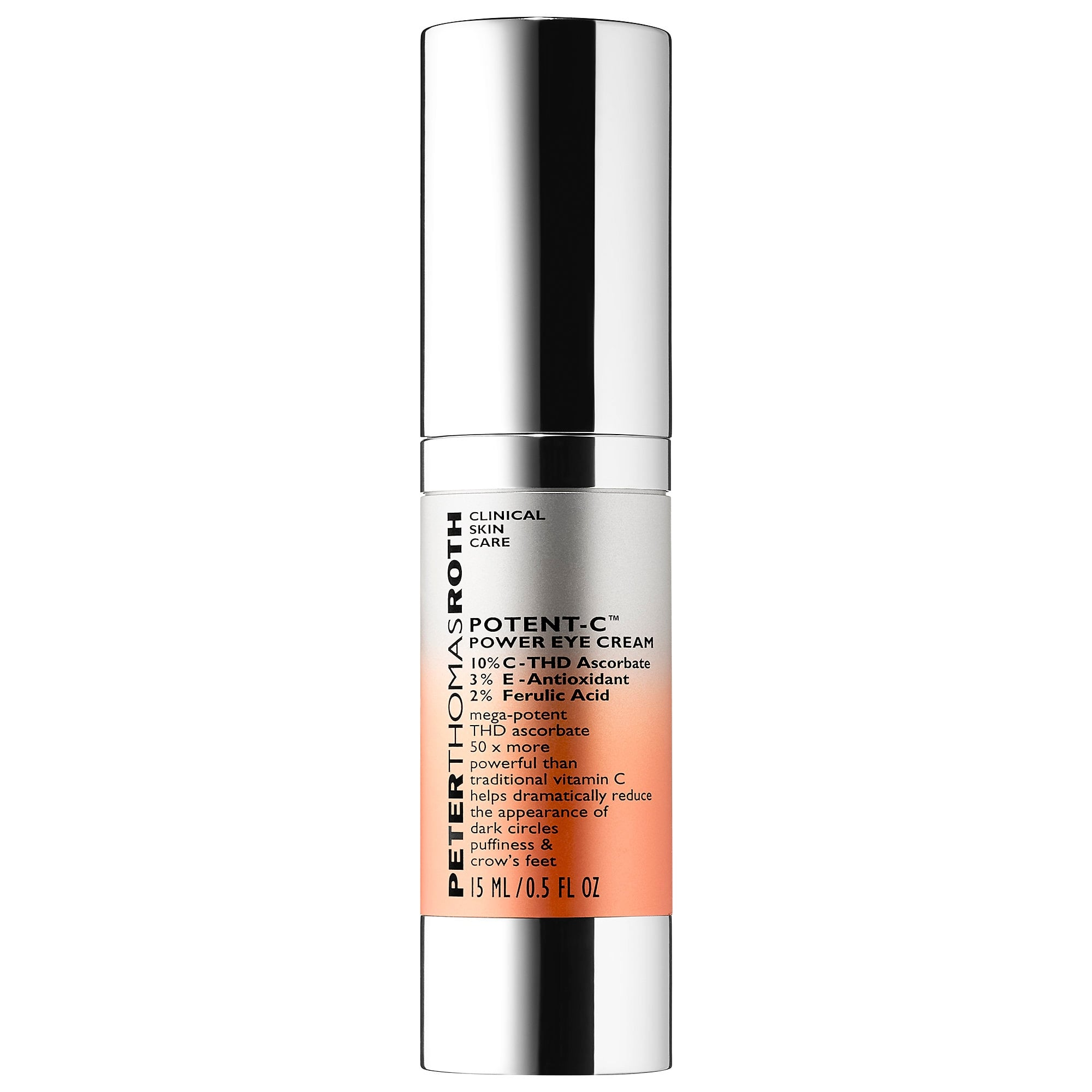 Peter Thomas Roth Potent C Vitamin C Power Eye Cream Here Are Sephora S Very Best Vitamin C Eye Creams To Tackle Dark Circles And Puffiness Popsugar Beauty Photo 8