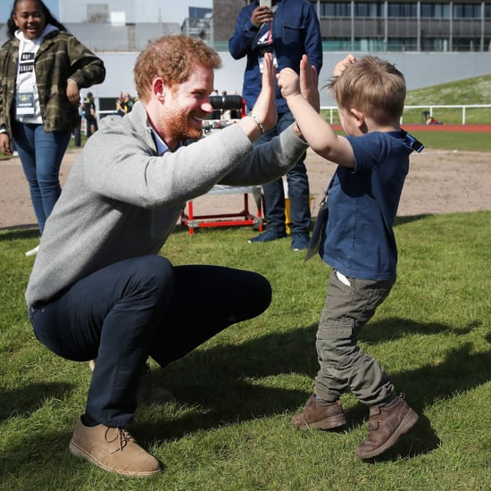 Prince Harry at Invictus Games Trials April 2017