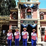 The barbershop quartet that hangs out on Main Street USA.