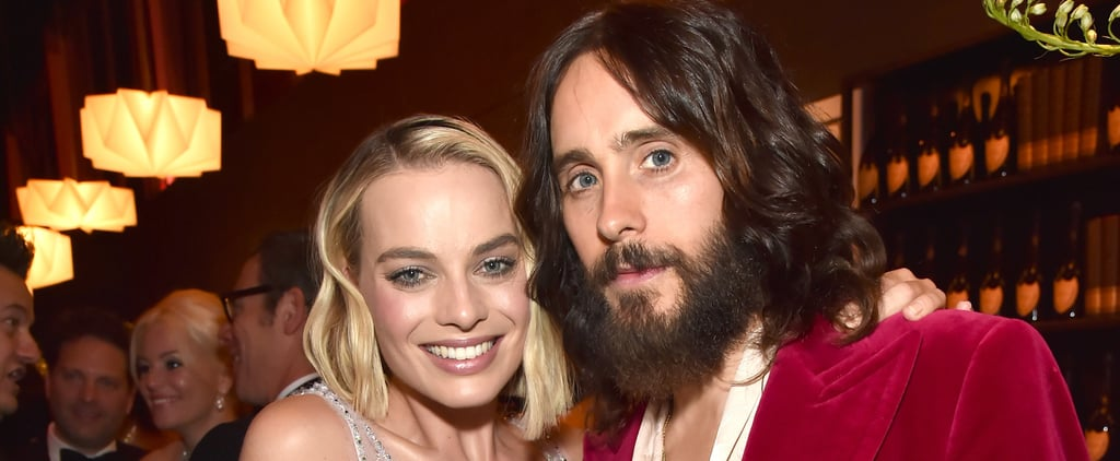 Margot Robbie and Jared Leto at Vanity Fair Oscar Party 2018