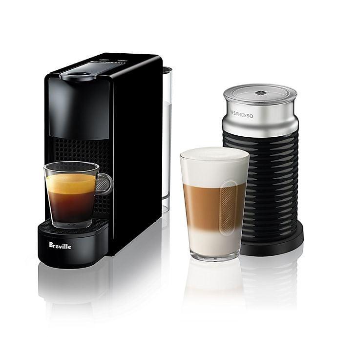 Nespresso by Breville Essenza Mini Espresso Maker With Aeroccino Frother