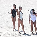 Selena Gomez on the Beach in Mexico Pictures July 2019