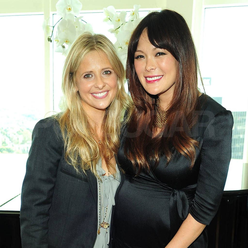 Sarah Michelle Gellar and Lindsay Price go way back to their early days on All My Children.