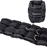 AmazonBasics Adjustable Ankle Weights