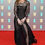 Lily-Rose Depp at the 2020 BAFTAs in London