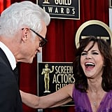 John Slattery and Sally Field