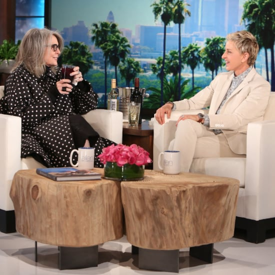 Diane Keaton on The Ellen DeGeneres Show June 2016