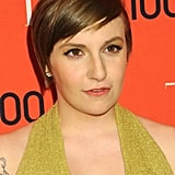 Lena Dunham With a Pixie Cut