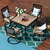 Tournelle 5 Piece Dining Set with Cushions