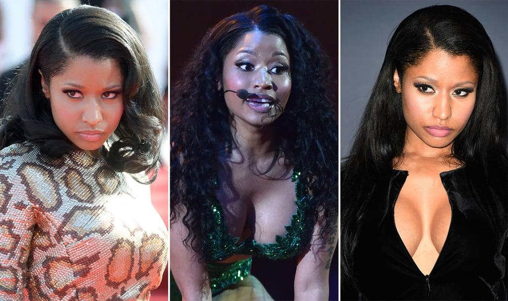 We Can't Get Over Nicki Minaj's Magically Changing Mane at the VMAs