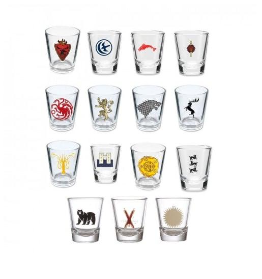 House Sigil Shot Glasses ($70, was $105)