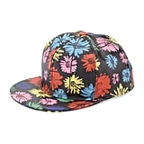 Moschino Floral Leather Baseball Cap, Multicolor
