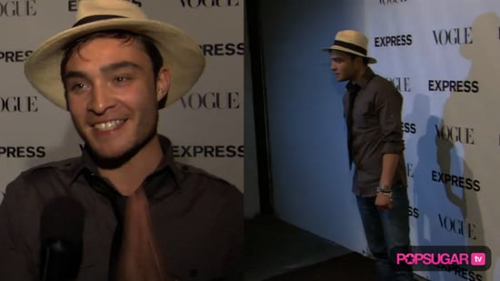 Video of Ed Westwick at a Party