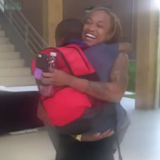 Soccer Player Jessica McDonald With Her Son at World Cup