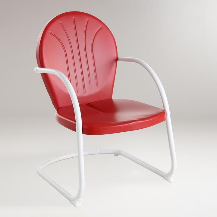 Metal Chair ($80)