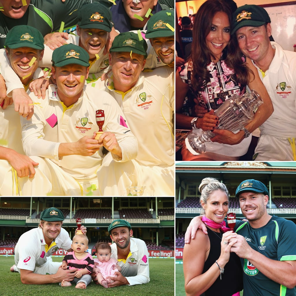 The Cutest Snaps of the Australian Cricket Team Celebrating The Ashes Victory
