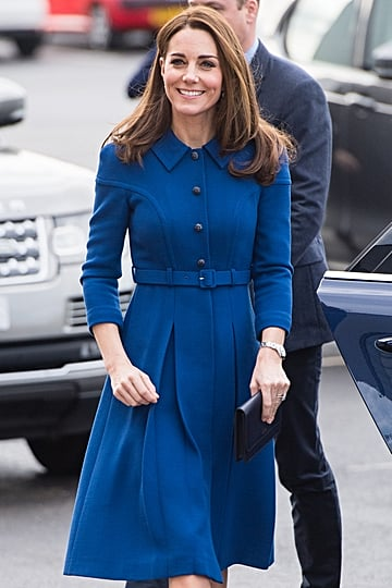 Kate Middleton Blue Eponine Dress November 2018