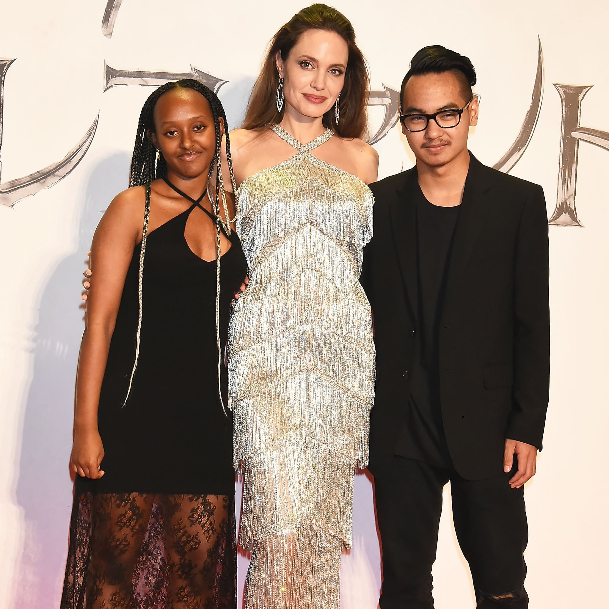 Angelina Jolie S Son Maddox Attends Maleficent 2 Premiere