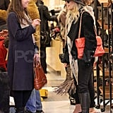 Pictures of Nicole Richie Shoe Shopping at Barneys New York in Beverly Hills