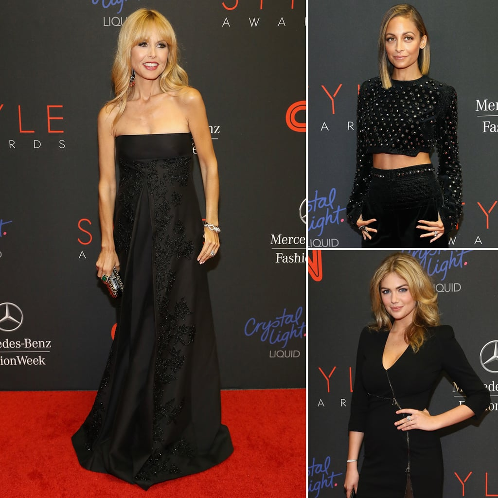 Celebrities at the Style Awards 2013