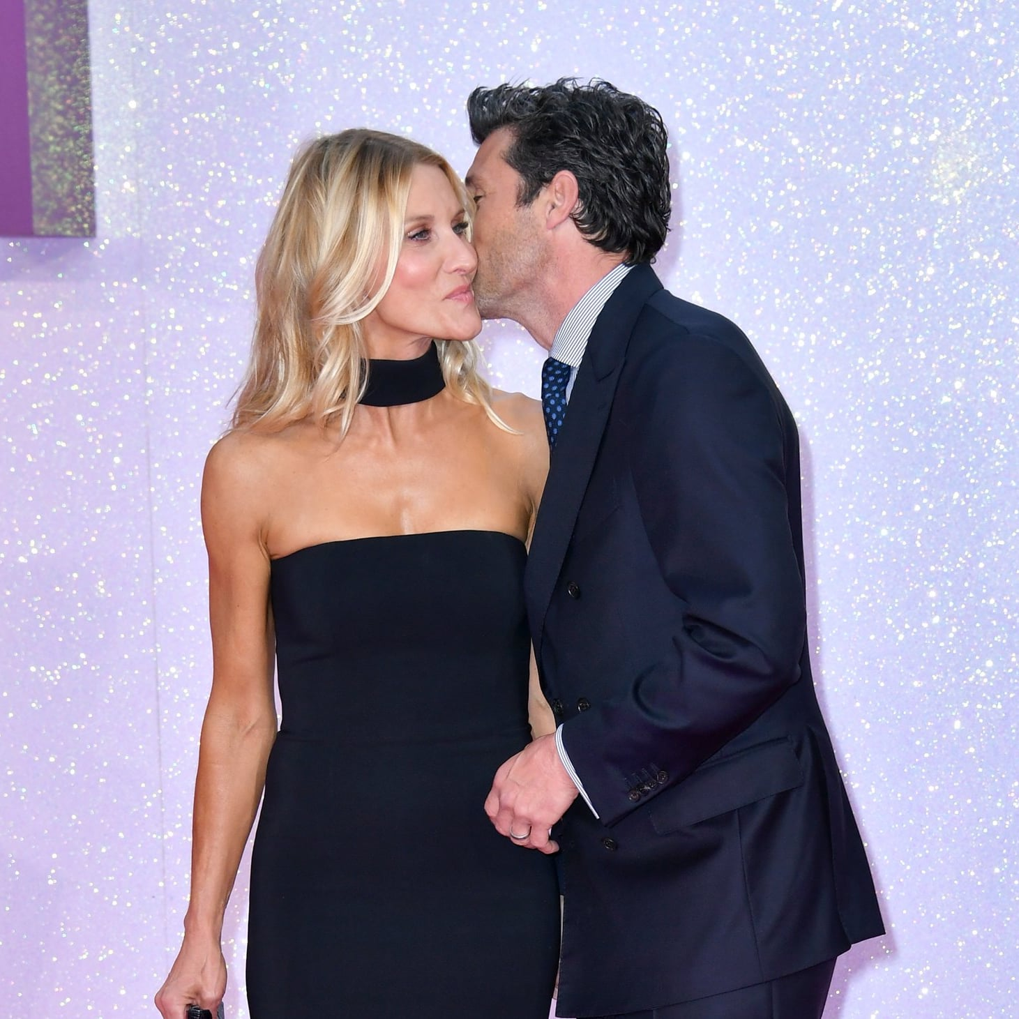 Patrick Dempsey And Family At Bridget Joness Baby Premiere