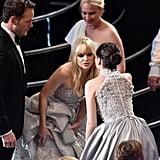 Chris Pratt and Anna Faris Said Hi to Felicity Jones