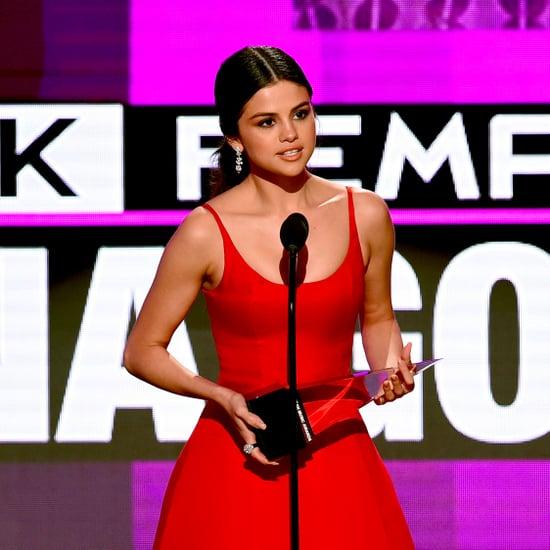 Discours de Selena Gomez aux American Music Awards 2016