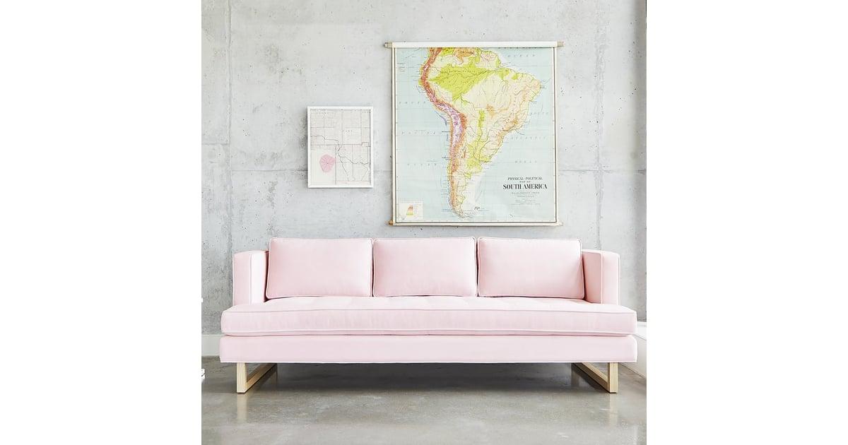 Gus Modern Aubrey Sofa Best Pink Couches Popsugar Home