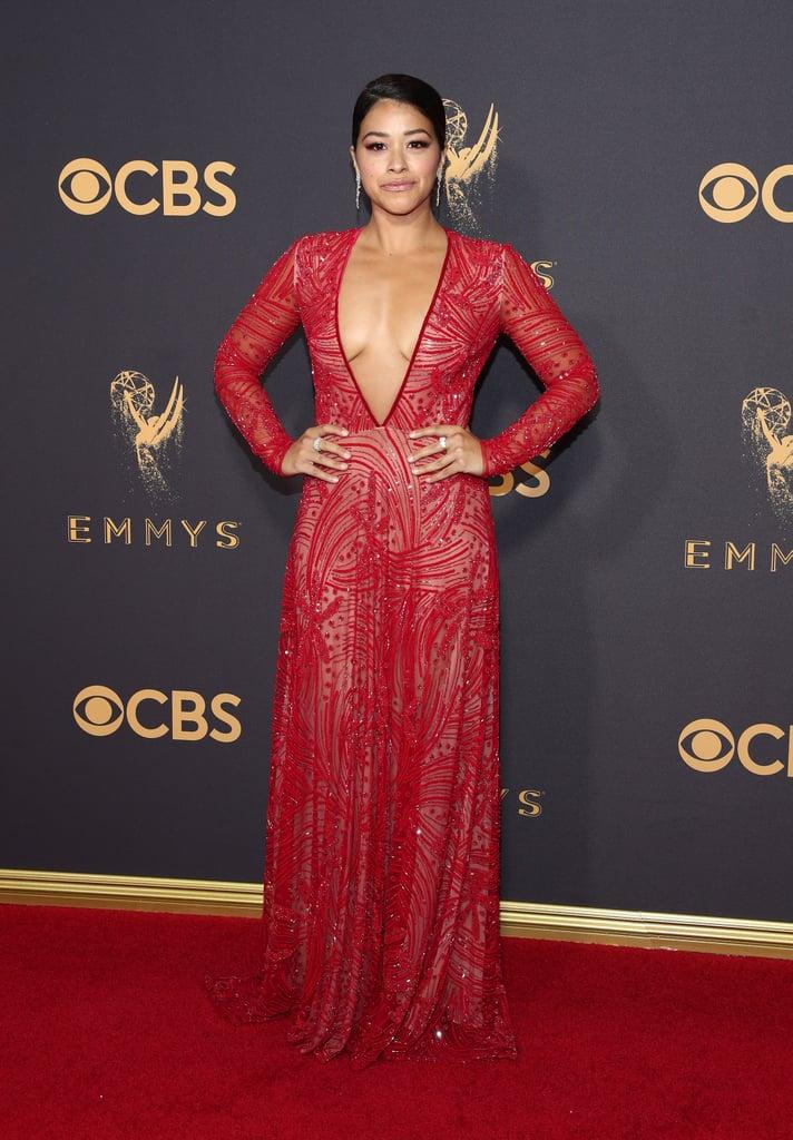 Sexiest Emmys Dresses 2017 Popsugar Fashion