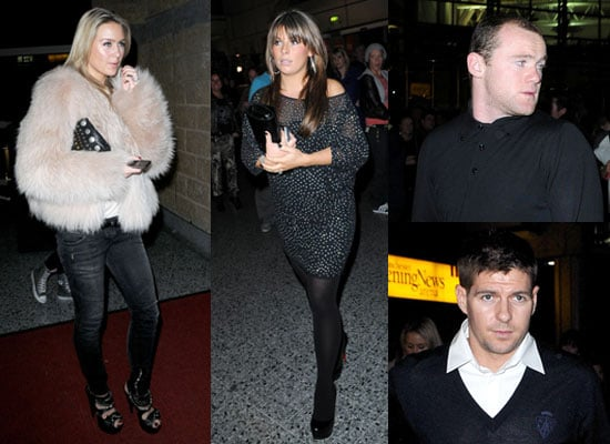 Photos of WAGs Coleen Rooney and Alex Curran at Beyonce Concert Manchester