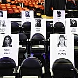 Aug. 17, 2018: MTV VMAs Releases a Sneak Peek of the Seating Arrangement