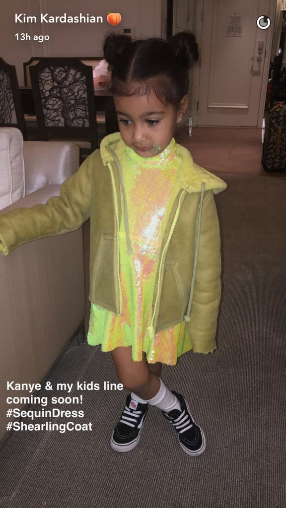Kim Kardashian Announced She and Kanye Are Launching a Kids Line