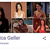 Monica Geller Friends Google Easter Egg