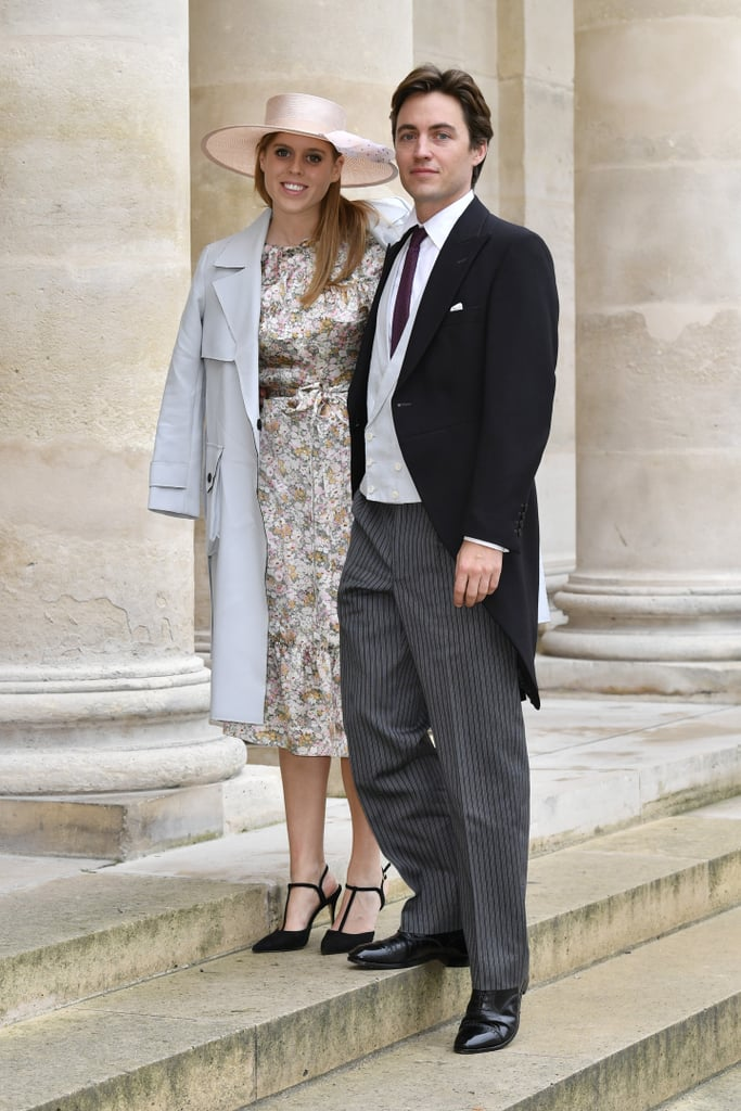 Princess Beatrice and Fiancé Attend Royal Wedding in Paris | POPSUGAR Celebrity UK