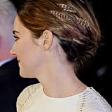 Shailene's Hair Feathers From the Side