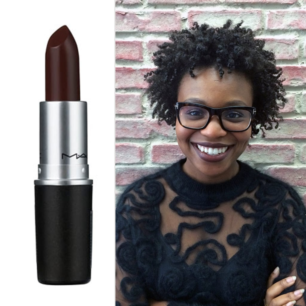 Souvent MAC Cosmetics Lipstick in Film Noir | How to Wear Brown Lipstick  GV17