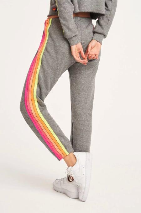 Aviator Nation 5-Stripe Sweatpants