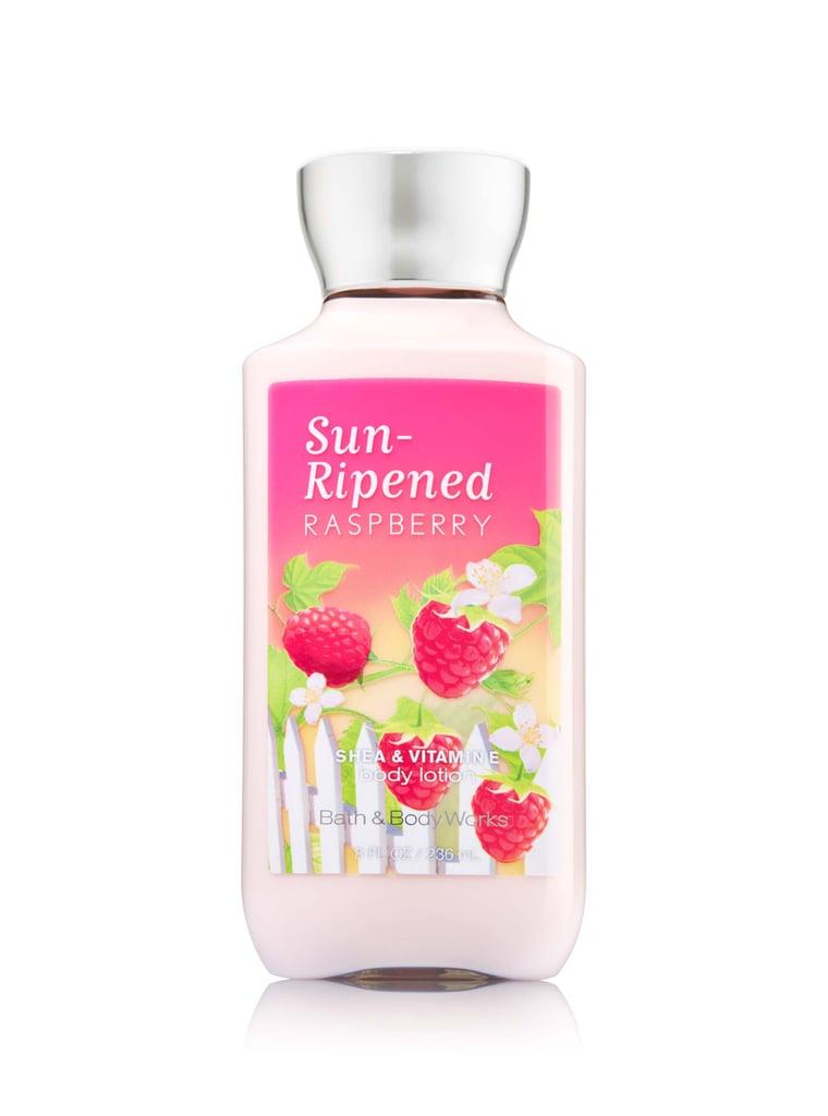 Bath & Body Works Sun-Ripened Raspberry Body Lotion