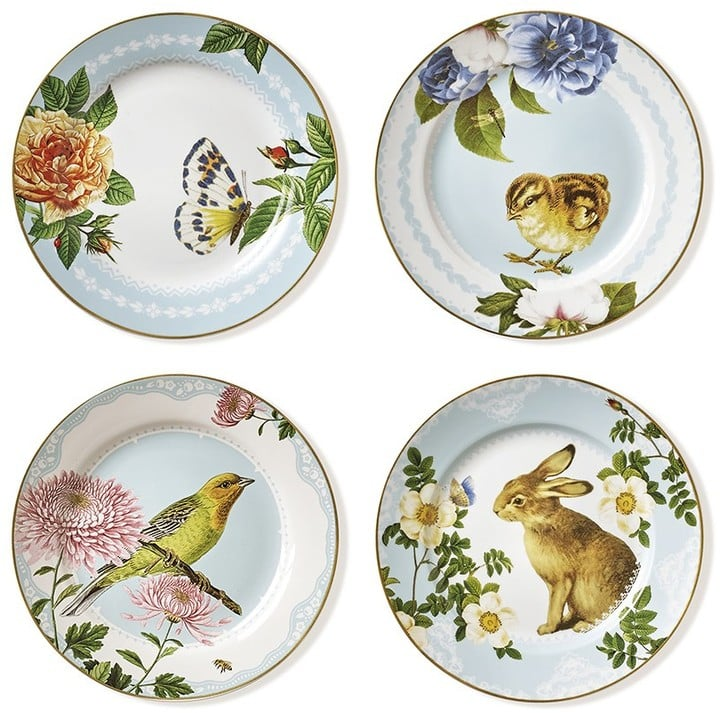 Spring Garden Salad Plates Set of 4 ($60)  sc 1 st  Popsugar & Spring Garden Salad Plates Set of 4 ($60) | Spring Dishes and ...