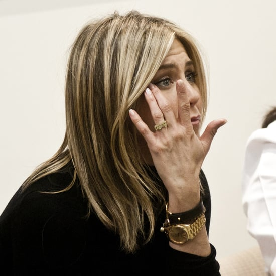 Jennifer Aniston Meets Breast Cancer Survivors Pictures