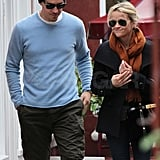 Reese and Jim grabbed lunch in Brentwood.