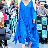 Gwendoline Christie Out in NYC September 2017