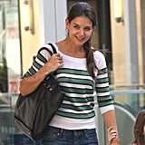 Katie Holmes smiles while shopping in LA.