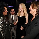 Pictured: Diana Ross, Nicole Kidman, and Keith Urban