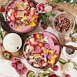 Raspberry White Chocolate Smoothie Bowl