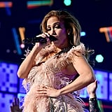 Jennifer Lopez paid tribute to Motown during her 2019 performance.