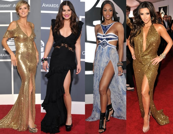 2011 Grammy Awards Red Carpet Trend: Slit Gowns